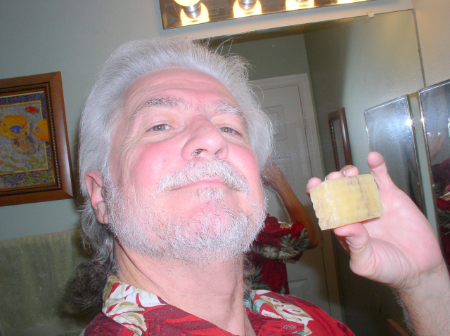 Tim T With His Soap
