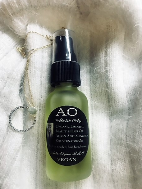 Organic Absolute Age Essential Beauty & Hair Serum Argan Oil Anti-aging and Rejuvernator