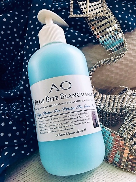 New! Blue Bite Blancmange - An orchestra of essential oils brings that icy freeze relief
