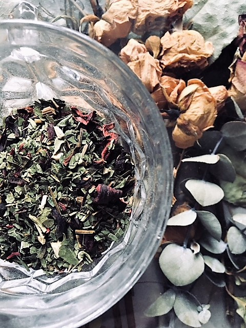 Organic  Herbal Tisane  - Asthma & Dry Cough Formula.