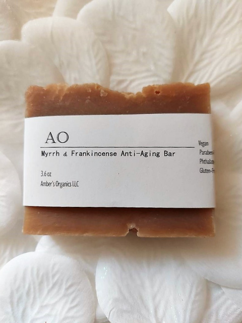 Organic Mystical Myrrh & Frankincense Oils - Anti-Aging