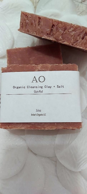 Organic Vegan GLAMUD - Exquisite Conditioning Clay Beauty Bar