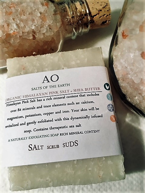 Organic Himalayan Pink Salt Minerals & Shea Butter-  Salts Of The Earth Collection