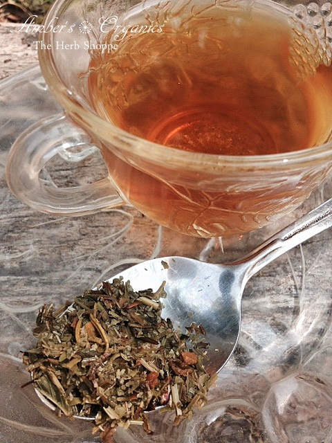 Organic Amazon Pau D Arco Bark Loose Tea.