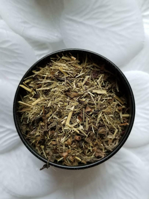 Organic Ayurveda Tulsi Wake Up Rejuvenating Tisane.